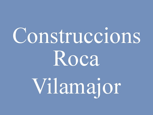 Construccions Roca Vilamajor