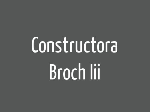 Constructora Broch Iii