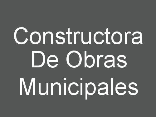 Constructora De Obras Municipales