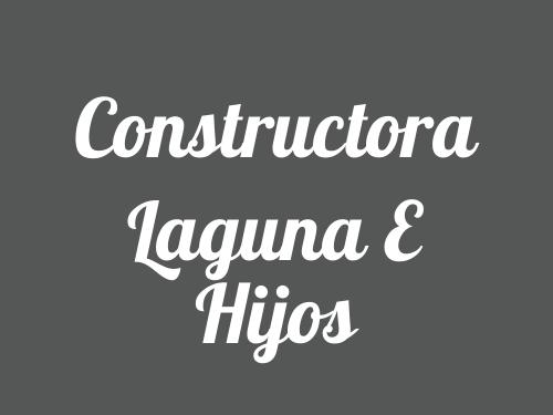 Constructora Laguna E Hijos