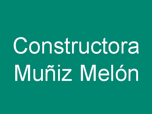 Constructora Muñiz Melón