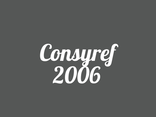 Consyref 2006