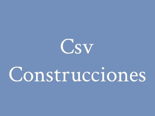 Csv Construcciones