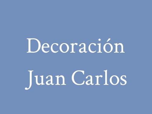 Decoración Juan Carlos