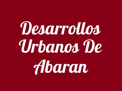 Desarrollos Urbanos De Abaran