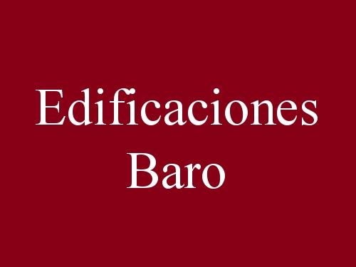 Edificaciones Baro