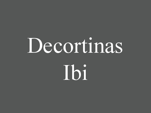 Decortinas Ibi