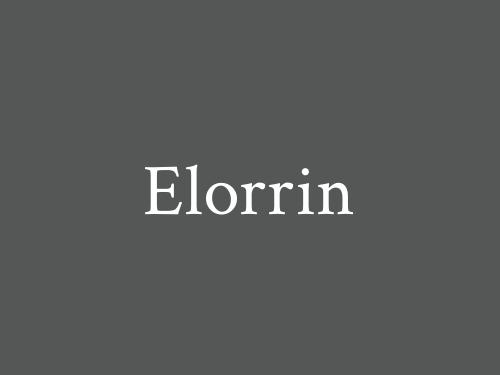 Elorrin