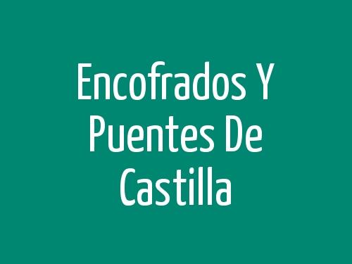 Encofrados Y Puentes De Castilla