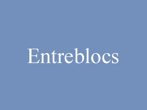 Entreblocs