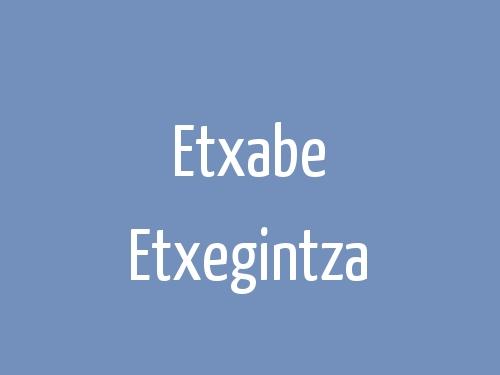 Etxabe Etxegintza