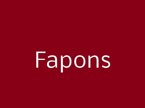 Fapons