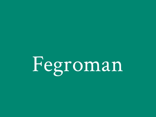 Fegroman