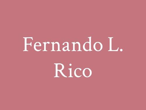 Fernando L. Rico