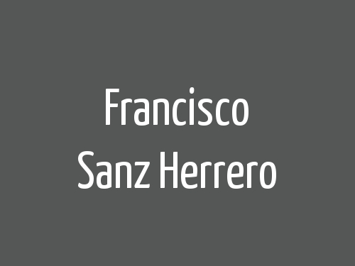 Francisco Sanz Herrero