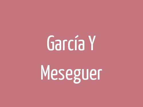 García Y Meseguer
