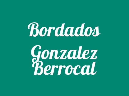 Bordados Gonzalez Berrocal