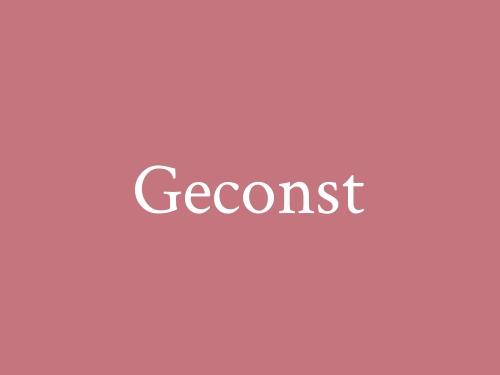 Geconst
