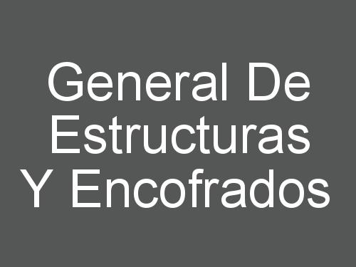 General De Estructuras Y Encofrados