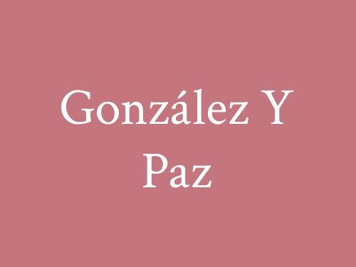 González Y Paz