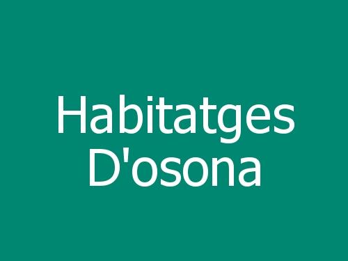 Habitatges D'osona