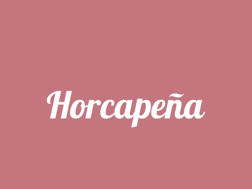 Horcapeña