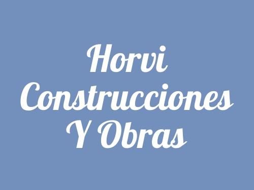 Horvi Construcciones Y Obras