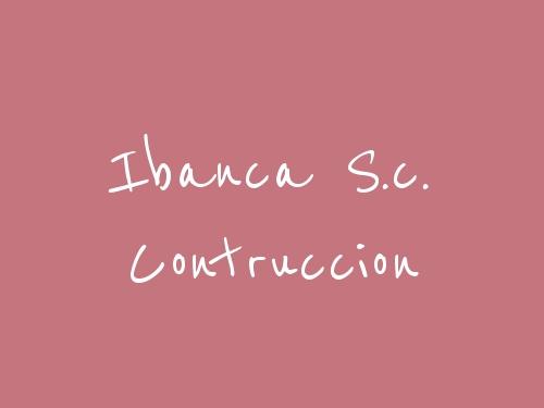 Ibanca S.c. Contruccion