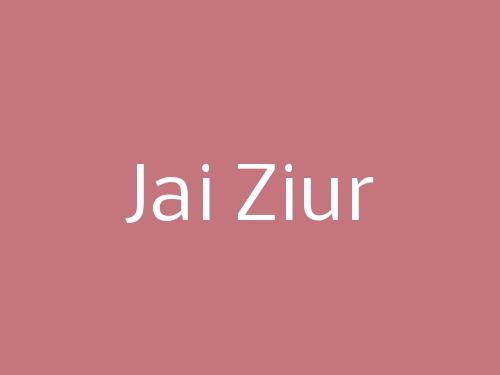 Jai Ziur