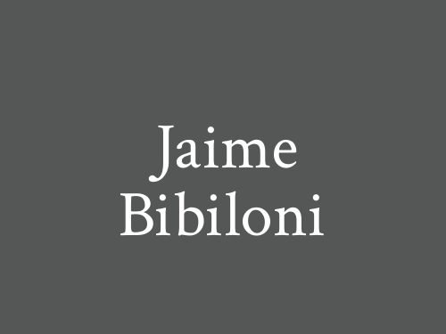 Jaime Bibiloni