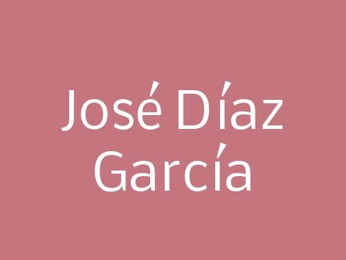 José Díaz García