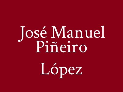 José Manuel Piñeiro López