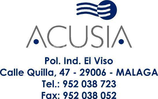 Acusia Sl. Aislantes y Aislamientos