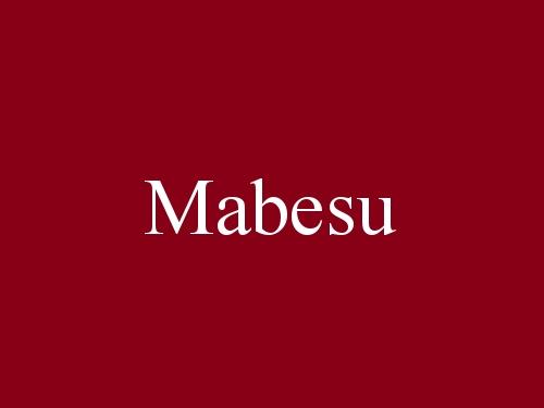 Mabesu