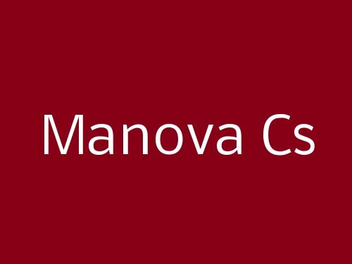 Manova Cs