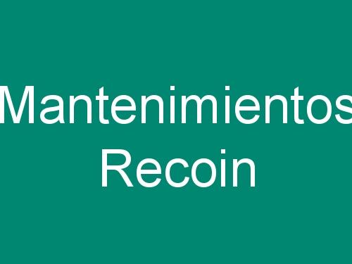 Mantenimientos Recoin