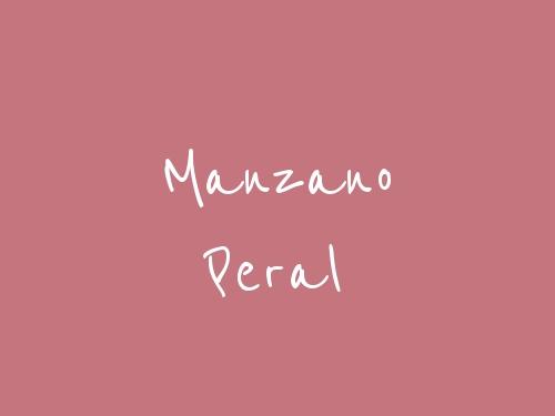 Manzano Peral