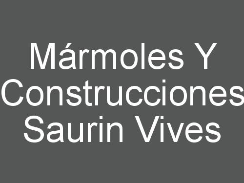 Mármoles Y Construcciones Saurin Vives