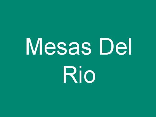 Mesas Del Rio