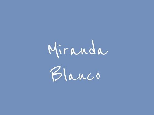 Miranda Blanco
