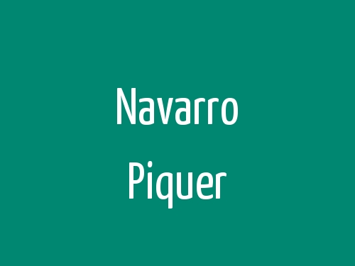 Navarro Piquer
