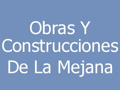 Obras Y Construcciones De La Mejana