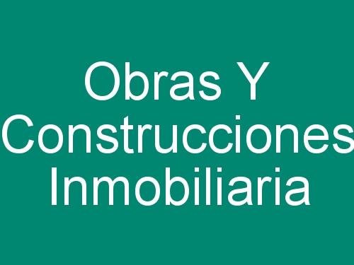 Obras Y Construcciones Inmobiliaria