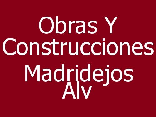 Obras Y Construcciones Madridejos Alv
