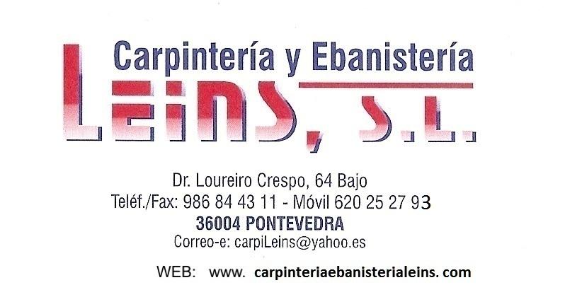 Carpintería y Ebanistería Leins SL