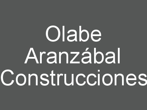 Olabe Aranzábal Construcciones