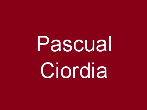 Pascual Ciordia
