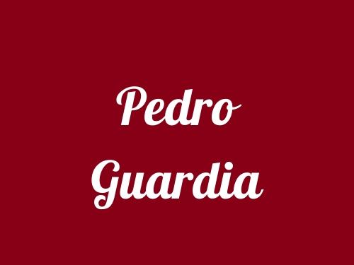 Pedro Guardia