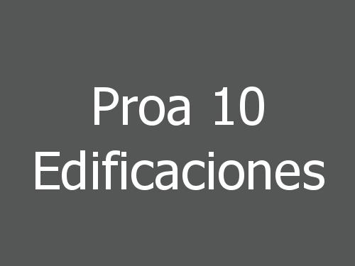 Proa 10 Edificaciones