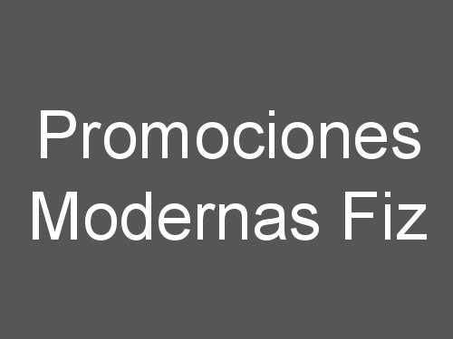Promociones Modernas Fiz
